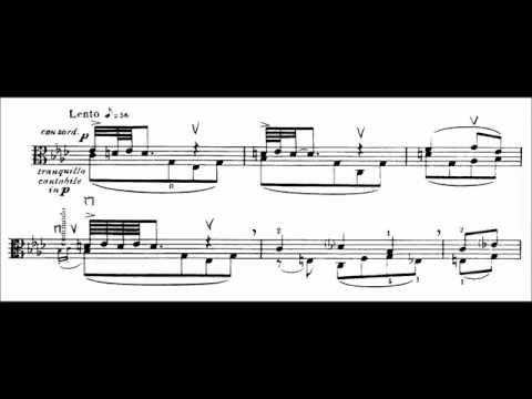 Igor Stravinsky - Elegy for solo viola (STRAVINSKY'S 133RD BIRTHDAY TRIBUTE)