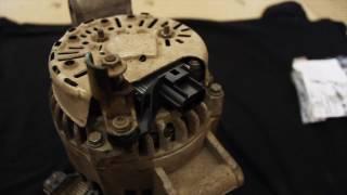 Генератор после ремонта, Форд Фокус 1, 2005 года, 1,6 Duratec.(, 2017-04-26T14:21:50.000Z)