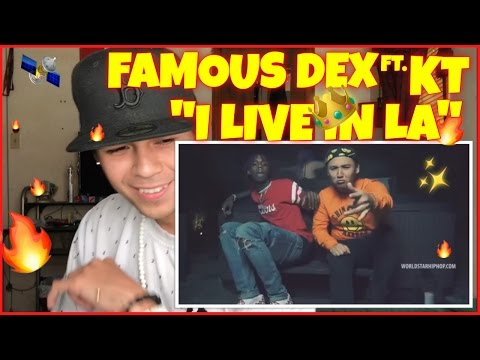 "Famous Dex ""I Live In LA"" Feat. KT (WSHH Exclusive - Official Video) 