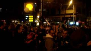 Obama Dance Party in the streets of Seattle