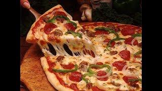 Домашняя пицца. Итальянская пицца./Пицца с курицей и грибами/Пицца пепперони