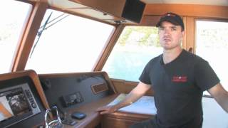 Fleming 55 pilothouse motor yacht test