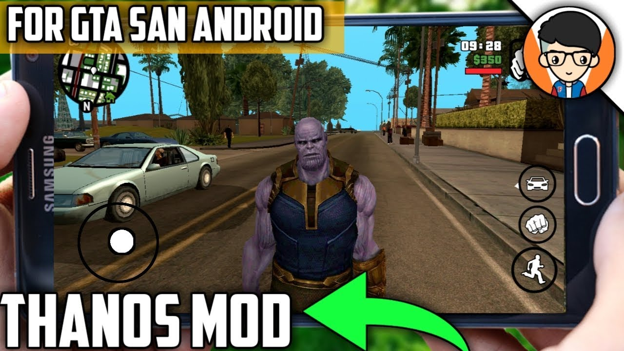 Download Thanos Mod For GTA SanAndreas Android | High Graphics