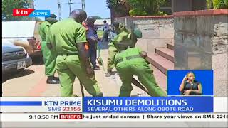 More the 10000 people to be rendered jobless in Kisumu demolition