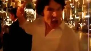 Benedict Cumberbatch   Dancing To «Thriller»