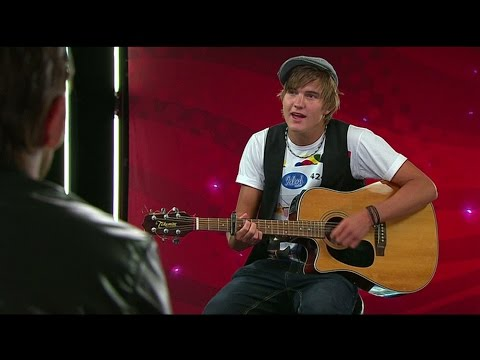 Idol 2010: Daniel Norbergs audition får fem Baggar  - Idol Sverige (TV4)