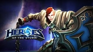 ♥ Heroes of the Storm (Gameplay) - Johanna, Give Me Hope ALL DAY (HoTs Quick Match)