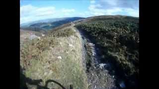 Rhayader Mountain Biking, GoPro HD