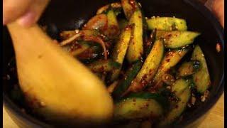 Огурцы по корейски очень легкий и очень вкусный салат