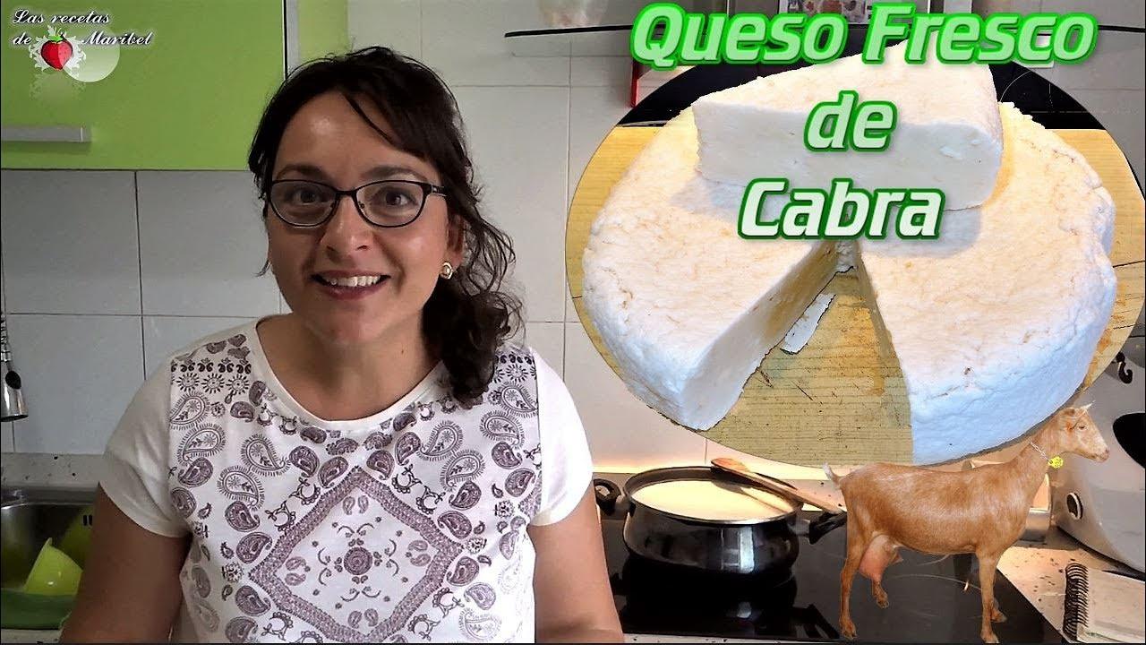 Queso Fresco De Cabra Fácil Queso Fresco De Vaca Saludable Youtube