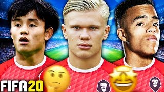 COULD THE BEST U18 WONDERKIDS TEAM WIN THE CHAMPIONS LEAGUE?!? FIFA 20 Experiment