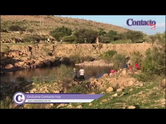 🚨🚨 Ahogado jovencito en la presa de Garabitos; otro apenas pudo salvarse.  #Durango