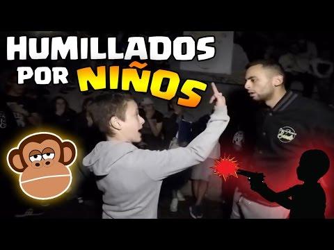 NIÑOS En Batallas Que HUMILLARON a su RIVAL !   Batallas de Rap
