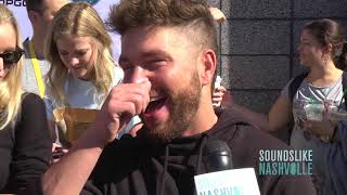 Chris Lane Preps for the ACM Awards with a Manicure