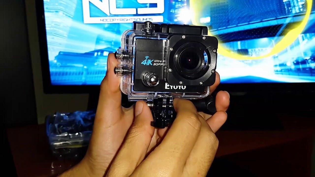 Unboxing de cámara BOBLOV SJ9000 16MPX 4K 30 fps - 1080p 60 fps y ...
