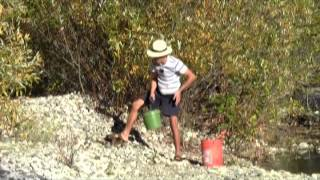 Where To Look For Gold #6 - Recovering Flood Gold On A River Bank