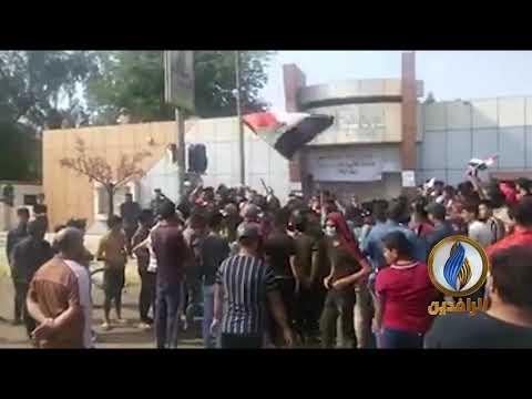 أهالي قضاء الدغارة في محافظة #القادسية يعلنون #الإضراب_العام
