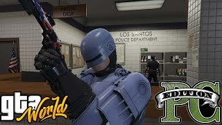gTA 5 Robocop eliminates The trash