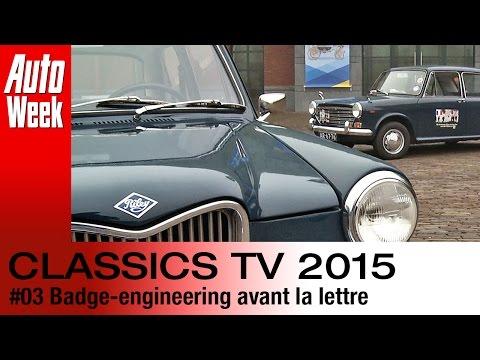 Classics TV 3 2015: Badge-engineering avant la lettre