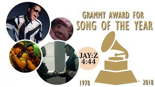 Grammy Award for Song of the Year (1978-2018)
