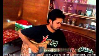 ZINDA HAI TO guitar tutorial (intros+chords+riffs+solo)
