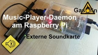 MPD Externe Soundkarte am Raspberry Pi [German/Deutsch]