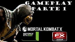 Mortal Kombat X   PART 1   PC Gameplay   60 FPS   FX 8350  GTX 650