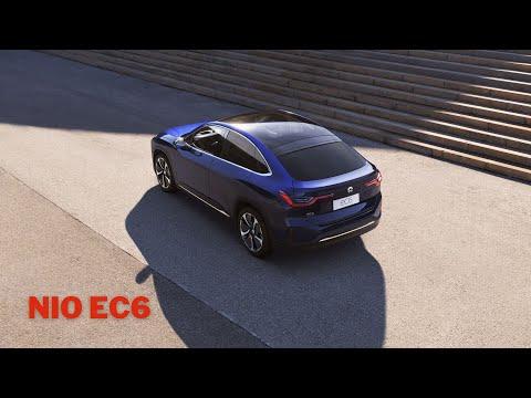 SUV Coupe NIO EC6 mit über 600 Kilometer Reichweite