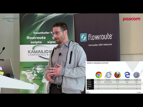 Kamailio World 2017: Getting Started With WebRTC