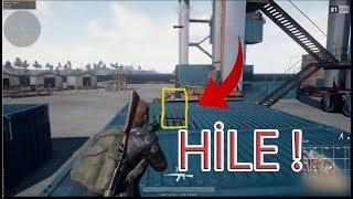 PUBG Hile ile Oynayan Oyuncular (Playerunknown's Battlegrounds)