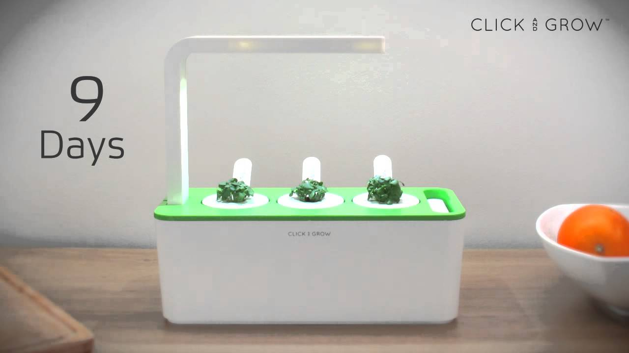 Click Grow Smart Herb Garden Time Lapse Youtube