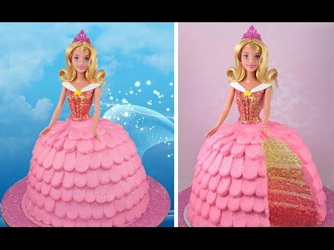 Princess Aurora Cake How to Make a Disney Sleeping Beauty OMBRE