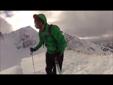 Skitour Birehubel im Gantrisch / Gurnigel, Berner Alpen, GoPro Hero 2