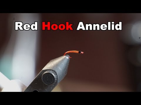 Red Hook Annelid - Flashy and Simple Annelid - McFly Angler Fly Tying Tutorial