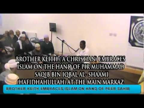 People Embracing Islam on Hand of Pir Muhammad Saqib bin Iqbal al-Shāmi