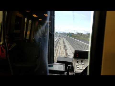 BART from Fremont to Warm Springs on the first day