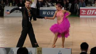 4K 2017 WDSF World Open Latin in Tokyo | Final RUMBA