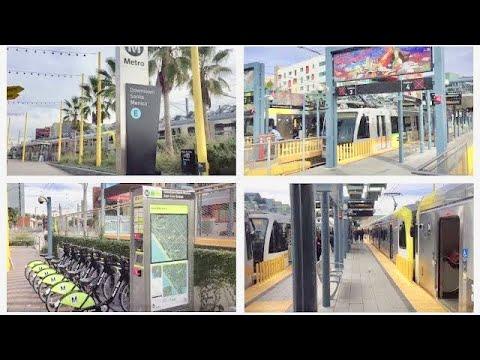 - Downtown Santa Monica Station (METRO Expo Line)