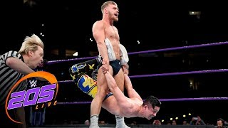 Tyler Bate vs. TJP: WWE 205 Live, Jan. 30, 2018