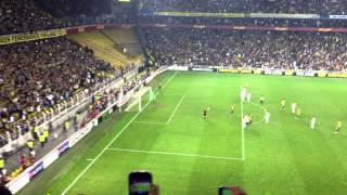 Fenerbahçe-Lazio 2-0 Webo'nun Golü UEFA Avrupa Ligi çeyrek Final (4 Nisan 2013)