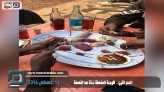 مصر العربية   اللحم النيئ .. الوجبة المفضلة لبناة سد النهضة