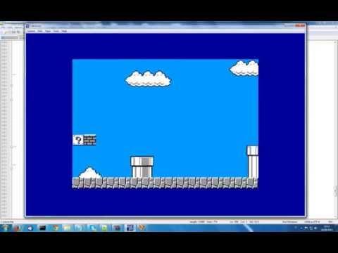 Super Mario Bros (demo 01) for Amstrad CPC 464