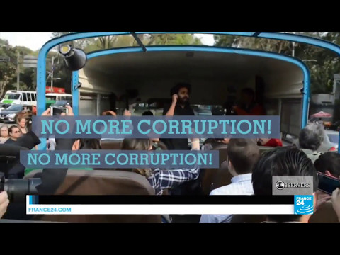 The guided tours of corruption in Mexico