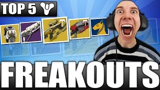 Ear Bleed Warning!! Top 5 Freakout Reactions Of The Week / Episode 440 - Destiny Age Of Triumph