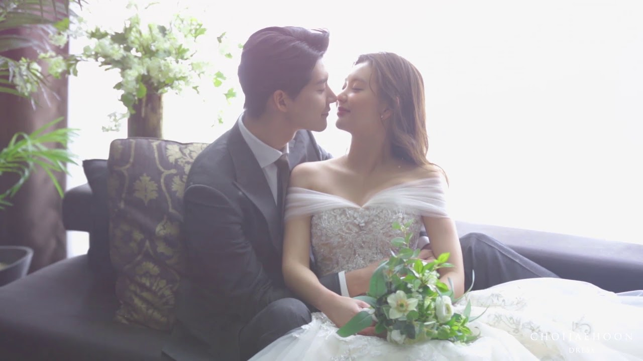 Korea Wedding Dress Fitting Movie Luce Studio