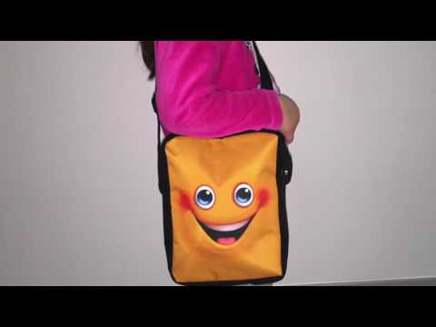 Test FOR U DESIGNS Besace sac enfant smiley // Amazon vendeur : Agrass  //Vidéo by Kodar ®