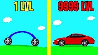 Draw Car 3D ALL LEVELS! NEW GAME DRAW CAR 3D WORLD RECORD!