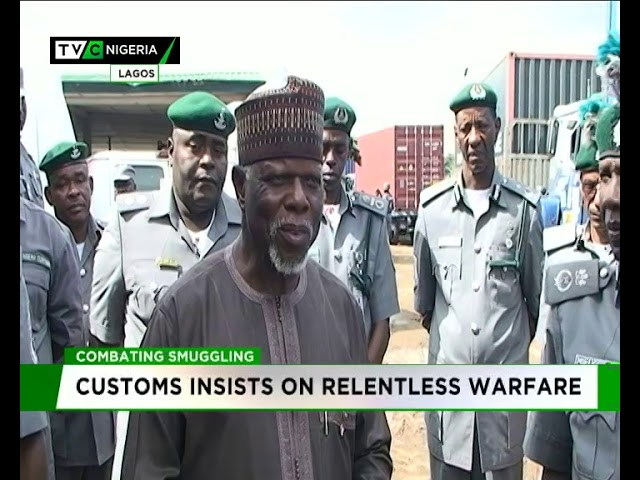 Image result for Customs insists on relentless warfare