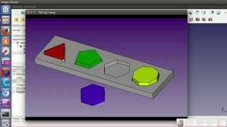 Tutorial FreeCAD T2 (5 / 34): Haciendo prismas