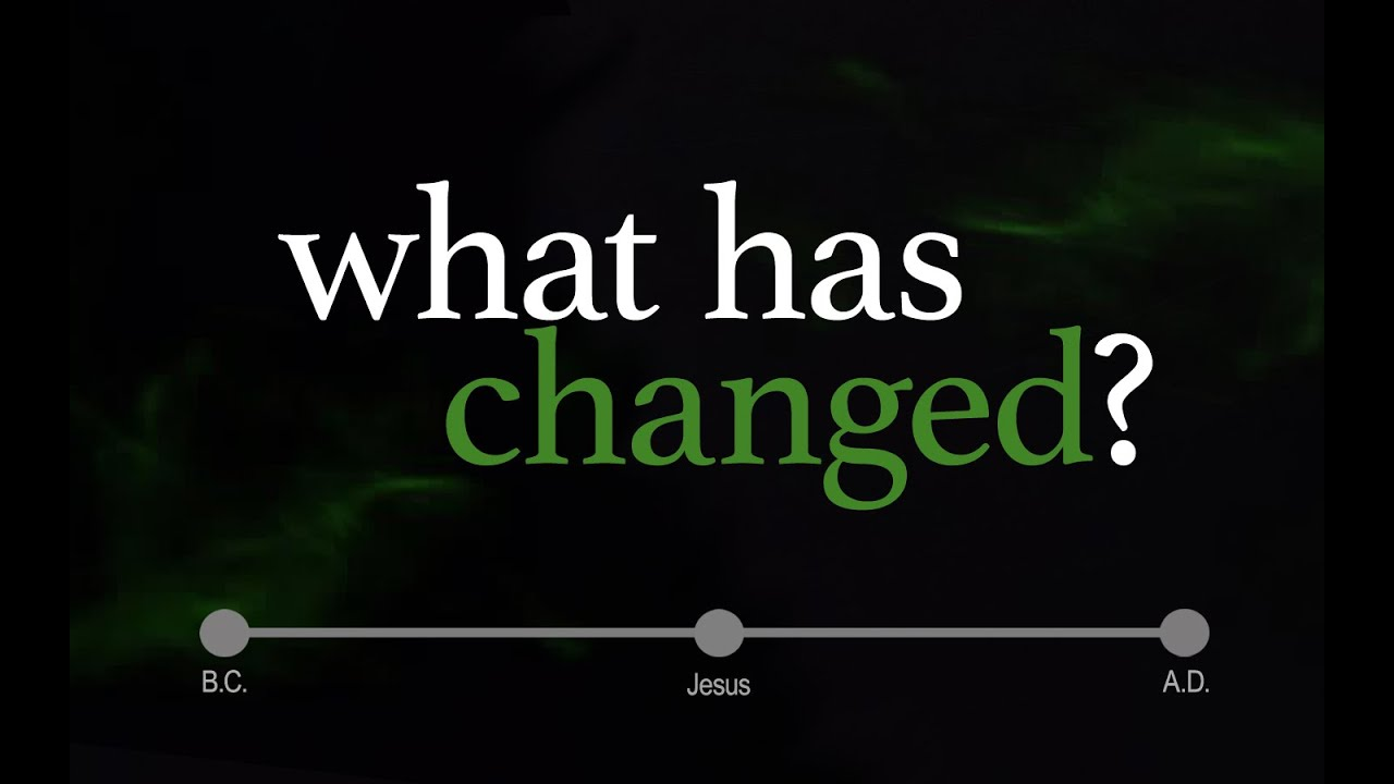 """""""god Hasn't Changed, So What Has Changed?""""  Pastor Joel"""